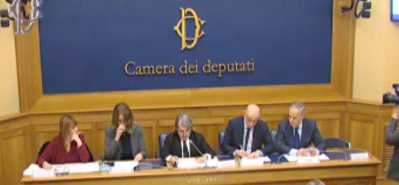 """Conferenza stampa sulla direttiva UE """"Presunzione d'innocenza"""""""
