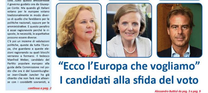 """""""Ecco l'Europa che vogliamo"""""""